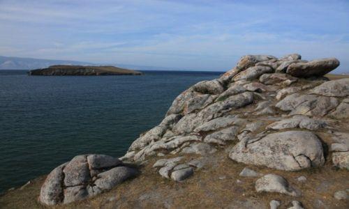 Zdjęcie ROSJA / Jezioro Bajkał / Olchon / Nad brzegiem