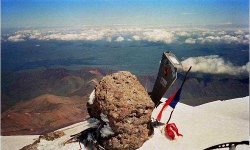 ROSJA / Kaukaz / Elbrus / szczyt Elbrusa
