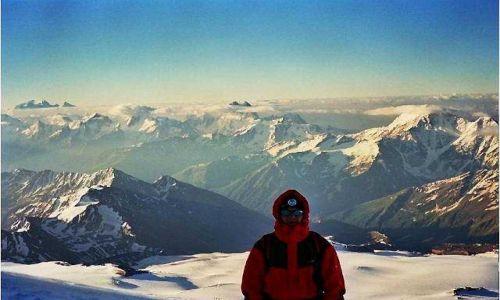 Zdjecie ROSJA / Kaukaz / Elbrus / Widoki na Kauka