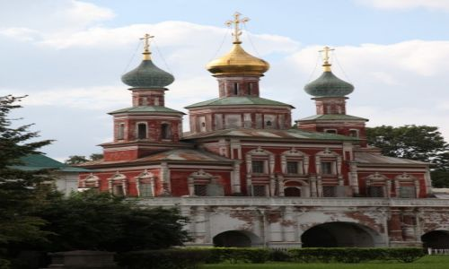 Zdjecie ROSJA / Moskwa / Monaster Nowodziewiczy / Sobór Smoleński