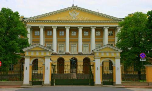 Zdjecie ROSJA / San Petersburg / San Petersburg / Smolny