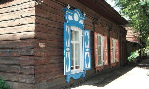 Zdjecie ROSJA / Syberia / Irkuck / Drewniany dom w Irkucku