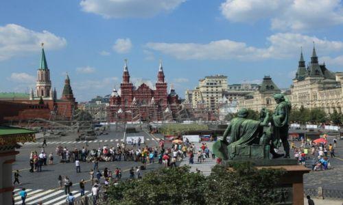 Zdjęcie ROSJA / Moskwa / Kreml / Plac Czerwony