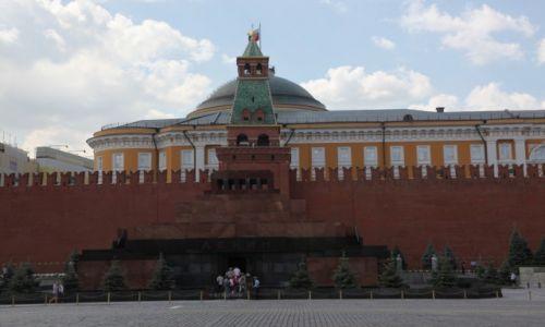 Zdjęcie ROSJA / Moskwa / Plac Czerwony / Gdzie jest jego miejsce?