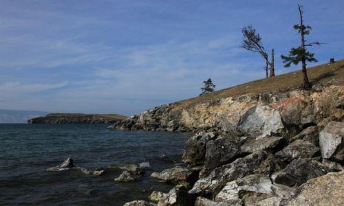 Zdjęcie ROSJA / Wyspa Olchon / Charancy / Brzeg