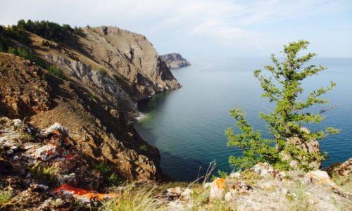 Zdjecie ROSJA / Bajkał / Wyspa Olchon / Surowe piękno