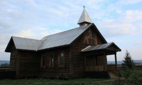 Zdjęcie ROSJA / Irkuck / Wierszina / Kościół św. Stanisława