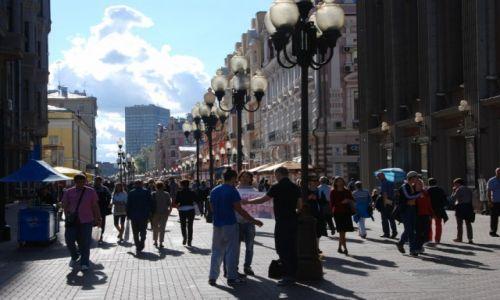 Zdjecie ROSJA / Moskwa / Arbat / Arbat