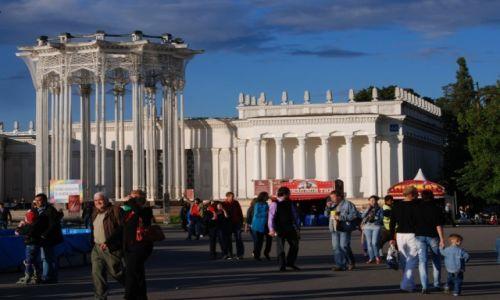 Zdjęcie ROSJA / Moskwa / ośrodek wystawowy WWC / pawilony WWC