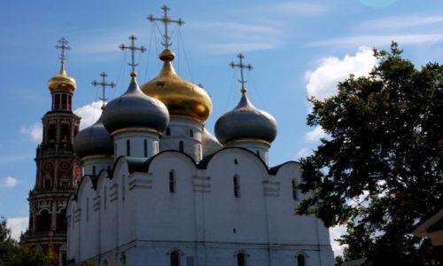 Zdjecie ROSJA / Moskwa / zespół klasztorny / Nowodiewiczyj Monastyr