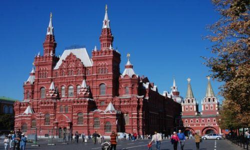 Zdjecie ROSJA / Moskwa / Plac Czerwony / Muzeum Historyczne