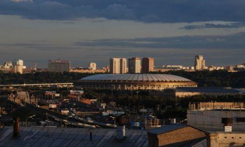 Zdjęcie ROSJA / Moskwa / Kutuzovskij Prospekt (okolice) / Widok z mojego okna
