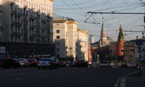 Zdjęcie ROSJA / Moskwa / ulica Twerska / Ulica Twerska