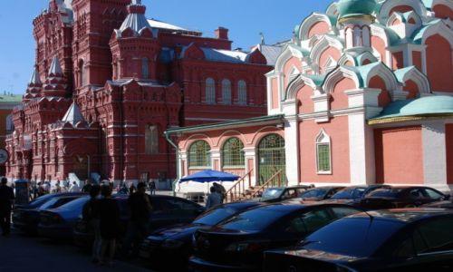 Zdjecie ROSJA / Moskwa / Plac Czerwony / Odbudowana cerkiew
