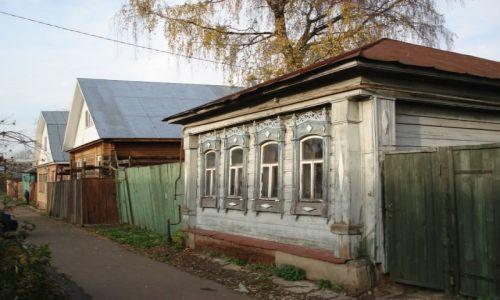 Zdjęcie ROSJA / Obwód moskiewski / Jegoriewsk / Architektura drewniana