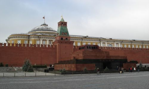 Zdjęcie ROSJA / Moskwa / Moskwa / Mauzoleum