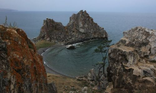 ROSJA / Jezioro Bajkał / Wyspa Olchon / Szamanka