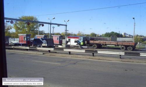 Zdjecie ROSJA / brak / gdzies w Rosji / bramki na wołdze