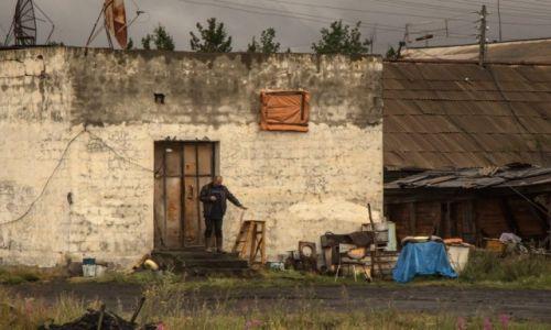 Zdjęcie ROSJA / Jakucja / wieś po drodze / Codzienność...