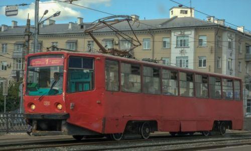 Zdjecie ROSJA / Kazań / miasto / Kazański tramwaj...