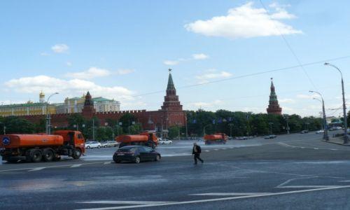ROSJA / Moskwa / Moskwa 2015 / W drodze na Kreml