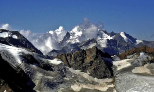 Zdjecie ROSJA / Kabardyno-Bałkaria / Elbrus / Lodowce Elbrusa