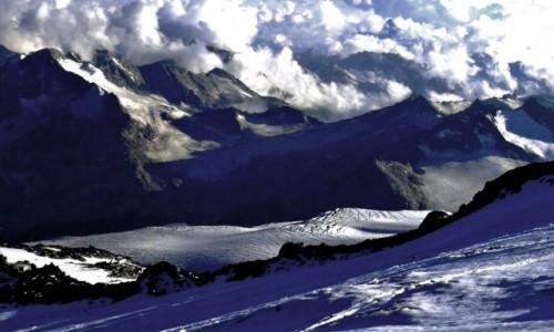 Zdjecie ROSJA / Kabardyno-Ba�karia / Elbrus / Na lodowych sto