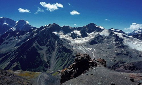 Zdjęcie ROSJA / Kabardyno-Bałkaria / Elbrus / Stacja pośrednia Mir