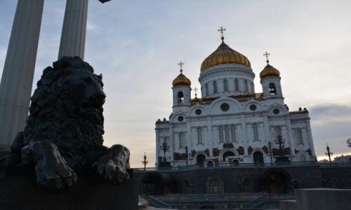Zdjecie ROSJA / Moskwa / Moskwa / Sobór Chrystusa