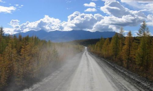 Zdjecie ROSJA / północna Syberia  / Rosja  / Droga do Magadanu