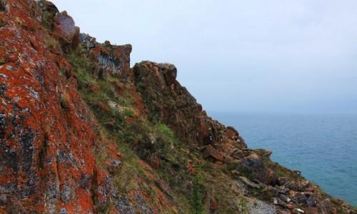 Zdjęcie ROSJA / Jezioro Bajkał, Wyspa Olchon / Przylądek Burchan / Barwy Bajkału