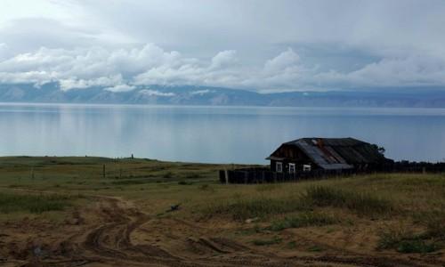 Zdjęcie ROSJA / Jezioro Bajkał / Wyspa Olchon / Cisza