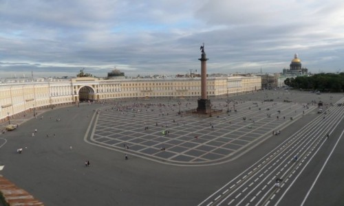 Zdjecie ROSJA / St Petersburg / Palace Square - the Heart of St.Petersburg / Plac