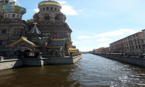 Zdjecie ROSJA / St Petersburg / Sobór Zmartwychwstania Pańskiego, Cerkiew na Krwi / Sobór