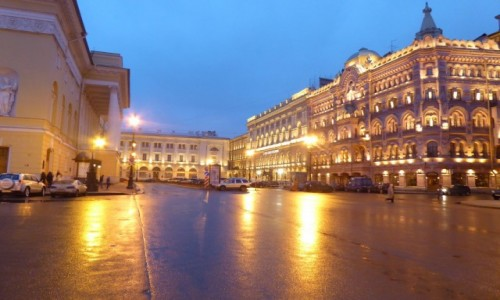 Zdjecie ROSJA / St Petersburg / St Petersburg / Ulice St. Petersburga