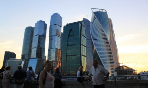 Zdjecie ROSJA / Moskwa / centrum Moskwy / W drodze do Mongolii