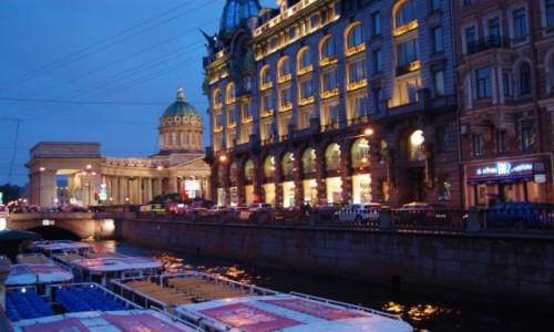 Zdjecie ROSJA / Rosja / Petersburg / Nocny Sankt Petersburg