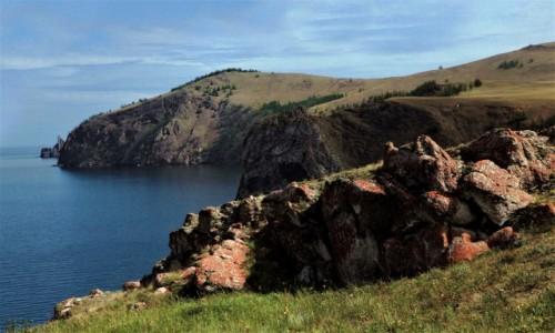 Zdjęcie ROSJA / Bajkał / Wyspa Olchon / Przylądek Chaboj