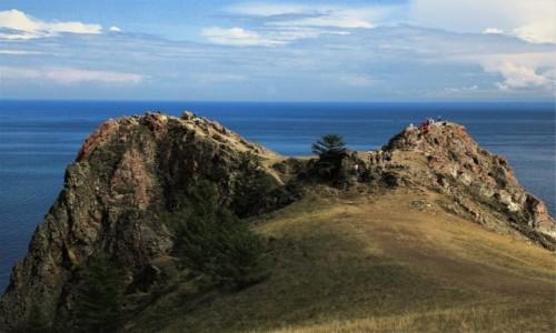 ROSJA / Bajkał / Wyspa Olchon / Przylądek Chaboj