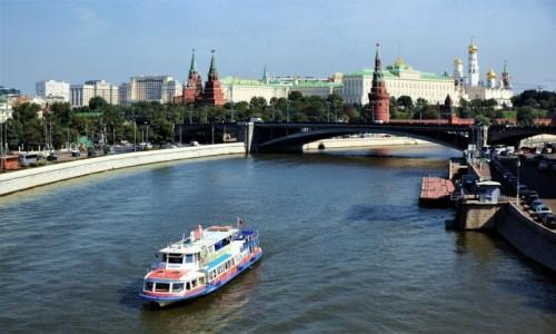 Zdjęcie ROSJA / Moskwa / . / Rzeka Moskwa