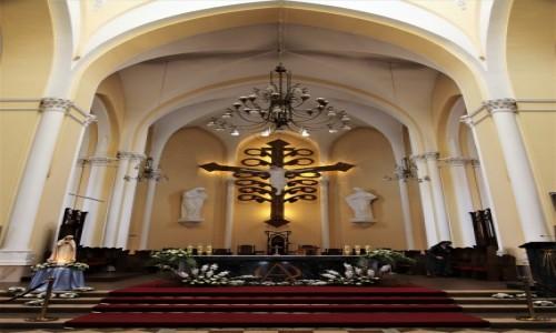 Zdjęcie ROSJA / Moskwa / Katedra Niepokalanego Poczęcia Najświętszej Marii Panny / Ołtarz