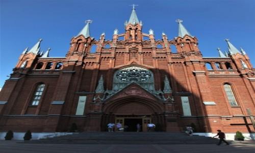 Zdjęcie ROSJA / Moskwa / . / Katedra Niepokalanego Poczęcia Najświętszej Marii Panny