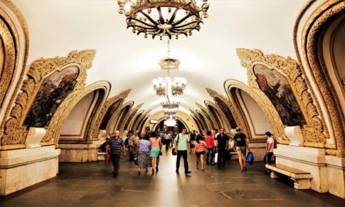 Zdjęcie ROSJA / Moskwa / . / Stacja metra