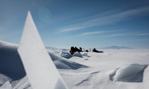 Zdjecie ROSJA / Syberia / Bajkał / magia lodu 01