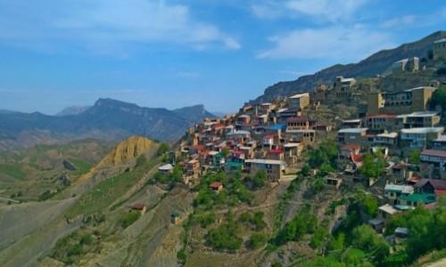 Zdjecie ROSJA / Dagestan / Chokh / Dagestan - wieś Chokh