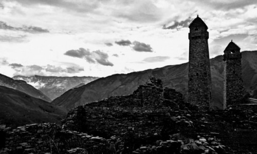 Zdjecie ROSJA / w drodze do Dagestanu / Czeczenia / Czeczenia - w drodze do Dagestanu