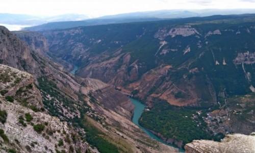 Zdjecie ROSJA / Dagestan / kanion Sulak / Dagestan - Sulak Kanion