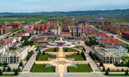 Zdjecie ROSJA / Inguszetia / Magas / Miasto w Inguszetii