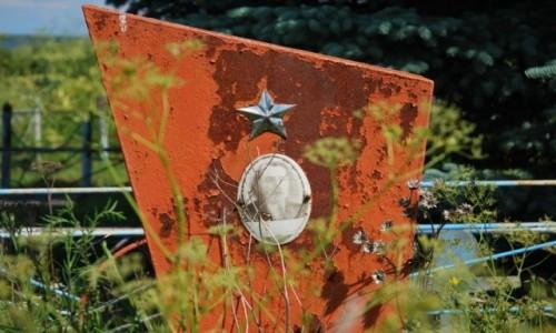 Zdjecie ROSJA / Karelia / cmentarz na wyspie Kiżi / historia blednie...