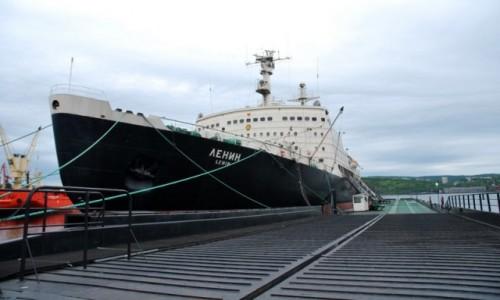 Zdjecie ROSJA / Karelia / Murmańsk / lodołamacz atomowy LENIN